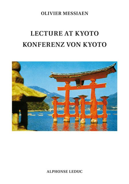 Lecture At Kyoto-Konferenz Von Kyoto (Version Anglais/Allemand)