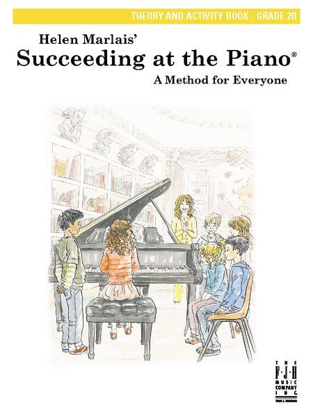 Succeeding at the Piano Theory and Activity Book, Grade 2B