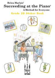 Succeeding at the Piano Sticker Book, Grade 2B