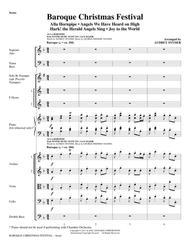 Baroque Christmas Festival (Medley) - Full Score