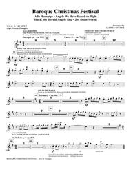 Baroque Christmas Festival (Medley) - Solo Bb Trumpet (opt. Pic Tpt)