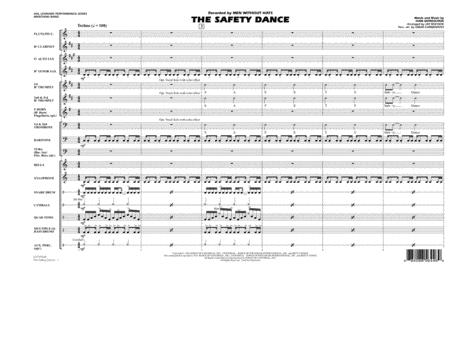 The Safety Dance - Full Score