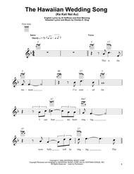 The Hawaiian Wedding Song (Ke Kali Nei Au)