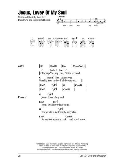 Download Jesus Lover Of My Soul Sheet Music By John Ezzy Sheet
