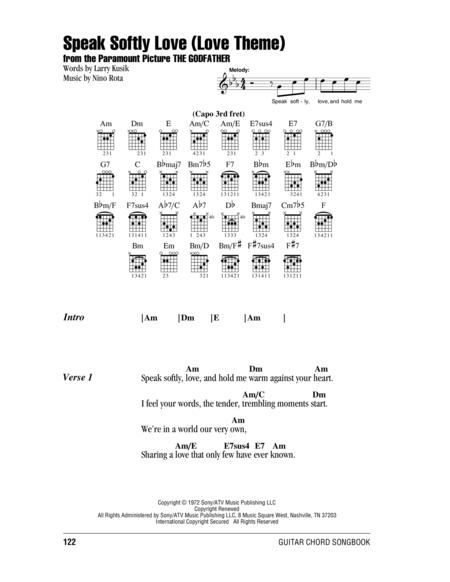 Download Speak Softly, Love (Love Theme) Sheet Music By Andy ...