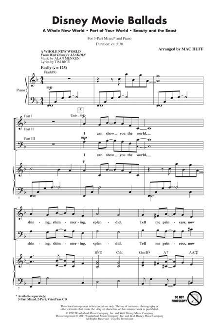 Disney Movie Ballads (Medley)