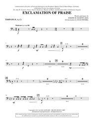 Exclamation Of Praise - Timpani