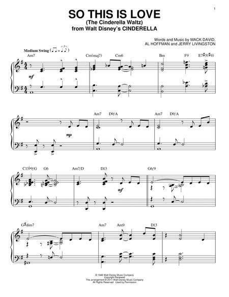 So This Is Love (The Cinderella Waltz)