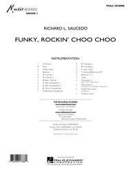 Funky, Rockin' Choo Choo - Full Score