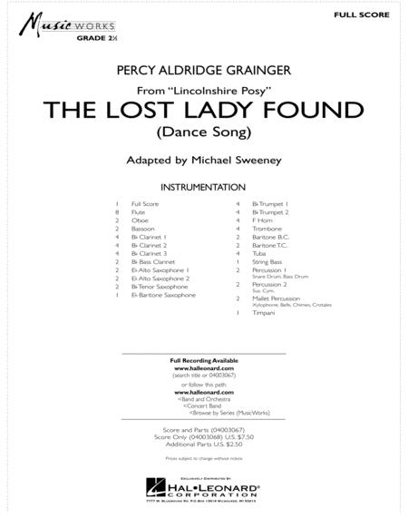 The Lost Lady Found (from