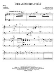 What A Wonderful World - Harp