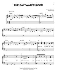 Download The Saltwater Room Sheet Music By Owl City - Sheet Music Plus