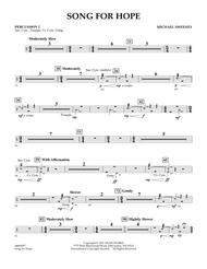 Song For Hope - Percussion 2