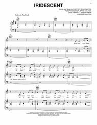 Download Iridescent Sheet Music By Linkin Park - Sheet Music