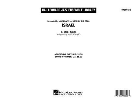 Israel - Conductor Score (Full Score)
