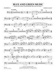Blue And Green Music - Trombone 1
