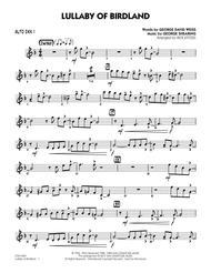 Lullaby Of Birdland - Alto Sax 1