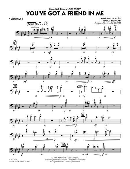 You've Got A Friend In Me - Trombone 1