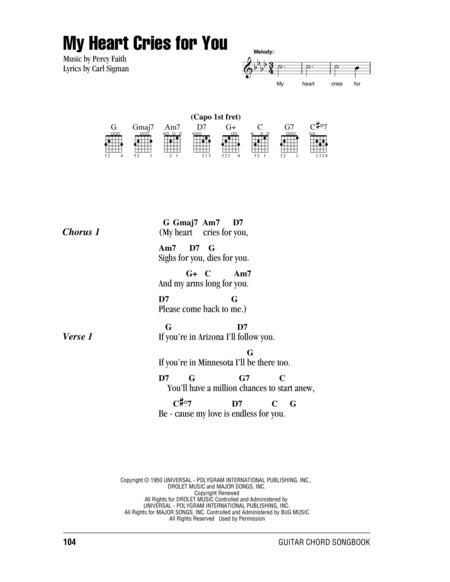 Download My Heart Cries For You Sheet Music By Jimmy Wakely - Sheet ...