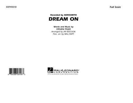 Dream On - Full Score