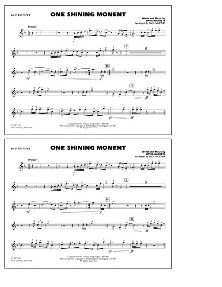 One Shining Moment - 1st Bb Trumpet
