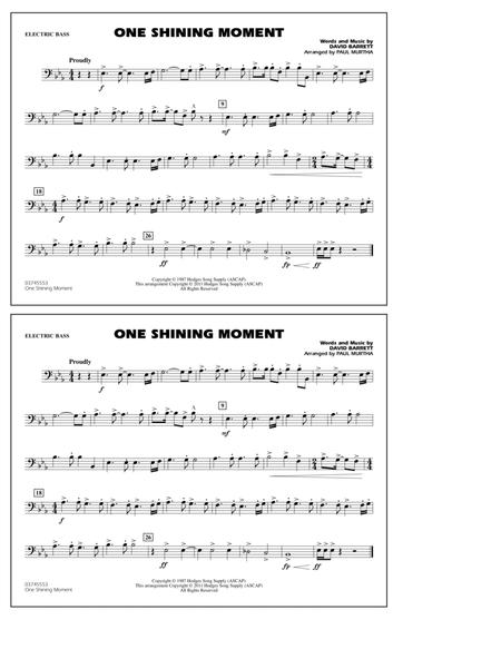 One Shining Moment - Electric Bass