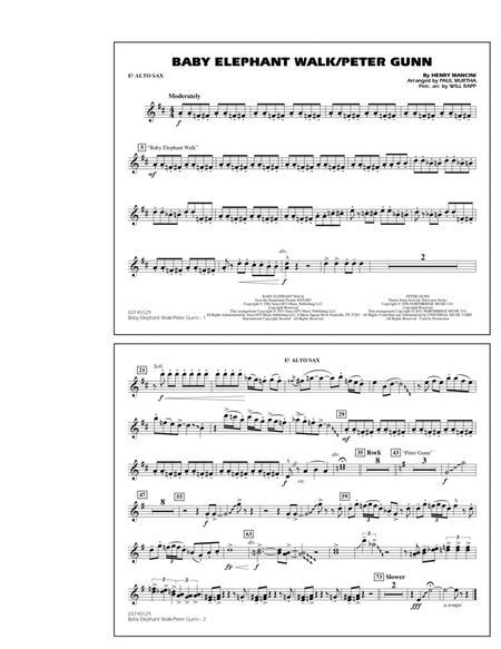 Baby Elephant Walk/Peter Gunn - Eb Alto Sax