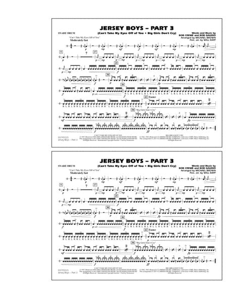Jersey Boys: Part 3 - Snare Drum