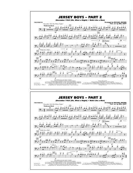 Jersey Boys: Part 2 - Trombone