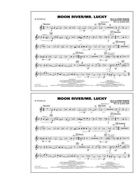 Moon River/Mr. Lucky - Bb Tenor Sax
