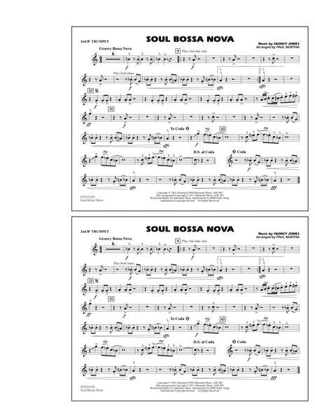Soul Bossa Nova - 2nd Bb Trumpet