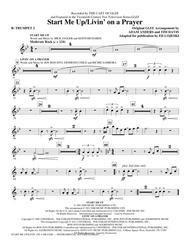 Start Me Up/Livin' On A Prayer - Bb Trumpet 2