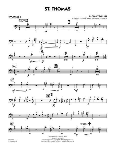 St. Thomas - Trombone 3
