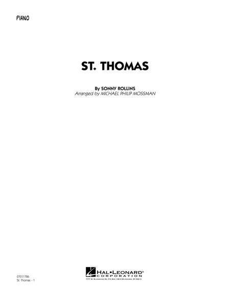 St. Thomas - Piano