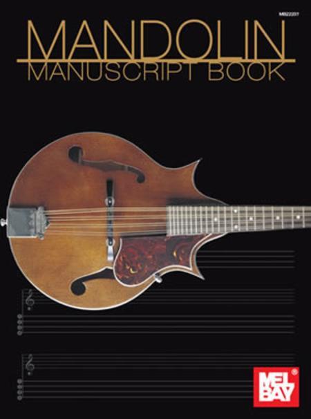 Mandolin Manuscript Book