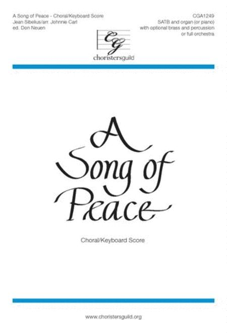 A Song of Peace - Brass and Percussion Parts