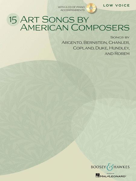 15 Art Songs by American Composers