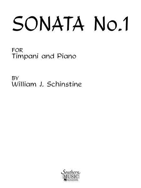 Sonata No. 1 for Timpani