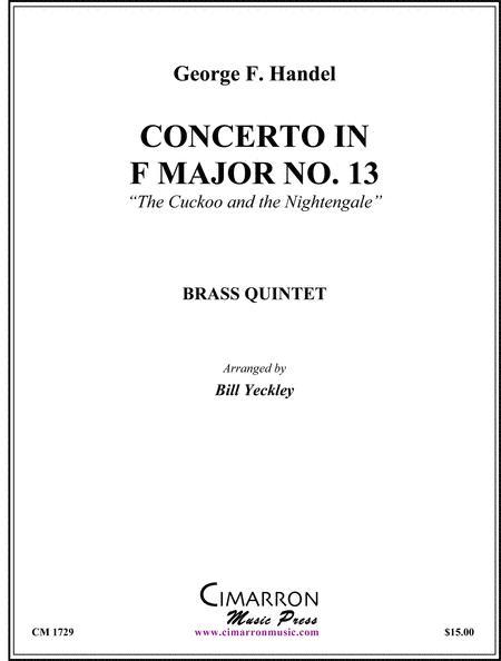 Concerto in F Major No. 13