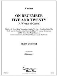 On December Five and Twenty (A Wreath of Carols)