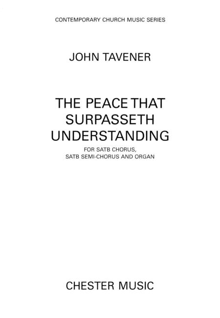 The Peace That Surpasseth Understanding