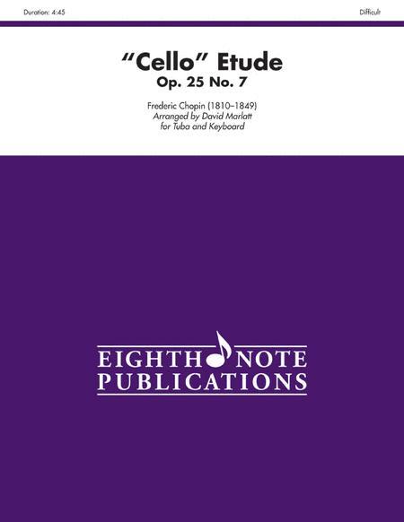 Cello Etude, Op. 25, No. 7