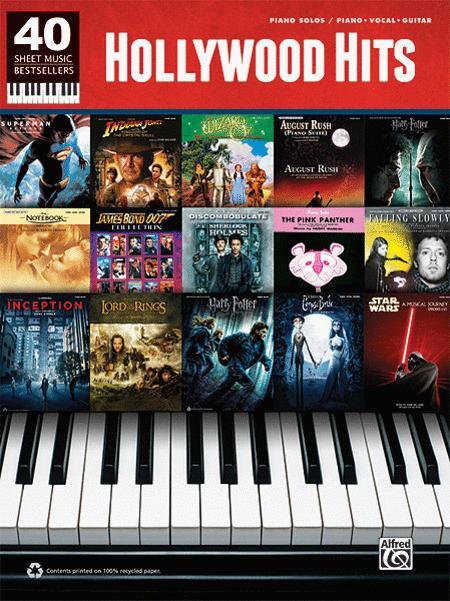 40 Sheet Music Bestsellers -- Hollywood Hits