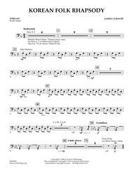 Korean Folk Rhapsody - Timpani