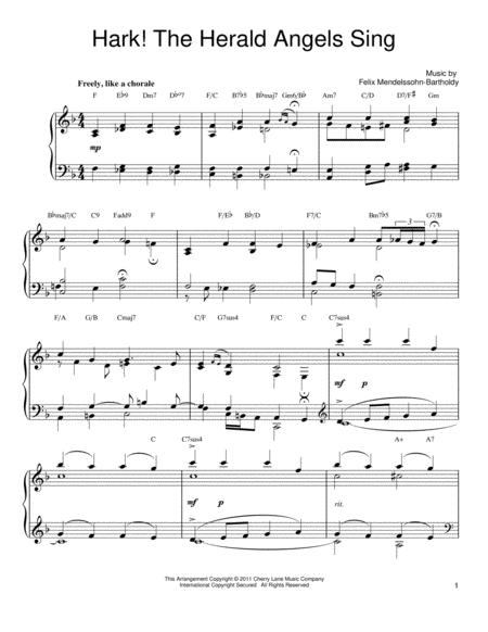 Download Hark The Herald Angels Sing Sheet Music By Charles Wesley