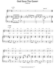 Download God Save The Queen (UK National Anthem) Sheet Music By