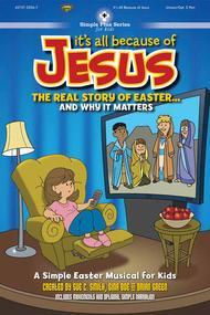 It's All Because Of Jesus (Split Track Accompaniment CD)