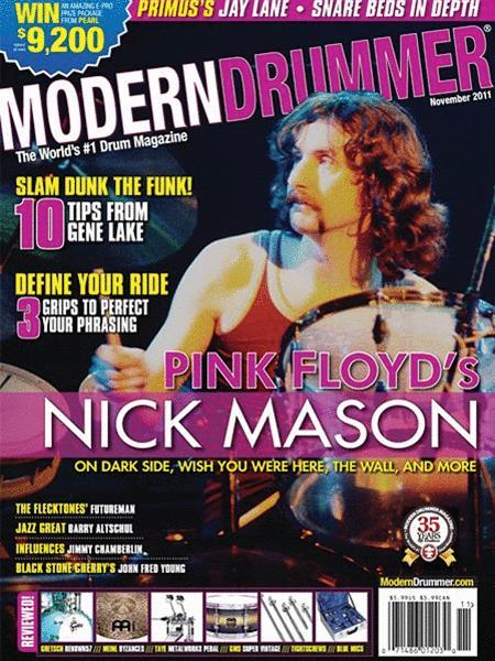 Modern Drummer Magazine - November 2011