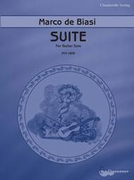 Marco de Biasi, Suite for Guitar Solo