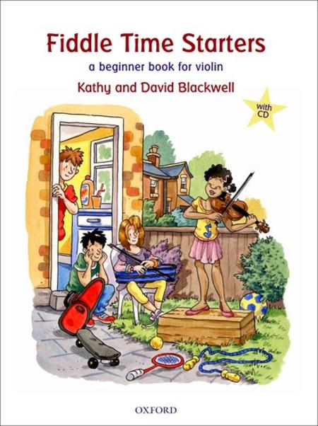 Fiddle Time Starters (book and CD)